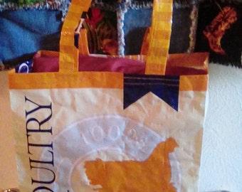 Feed sack shopping bag