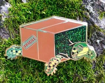 Box Turtle Enamel Pin