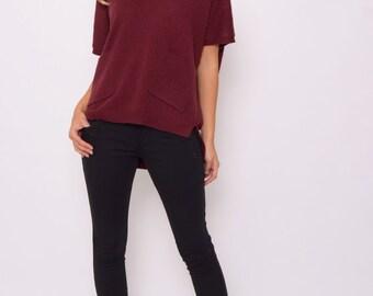 Black Diamante Trousers UK Size 14 PBS/S11