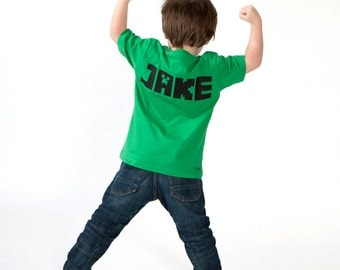 PERSONALIZED MINECRAFTER T-SHIRT minecraft inspired shirt