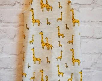 Giraffe dungaree Romper, Kidswear, Baby Clothes, Newborn, Handmade, JMW Kids, Toddler, Jersey, Baby Boy, Baby Girl, Unisex, Baby Gift