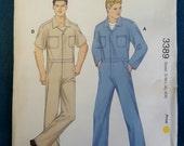Kwik Sew 3389 Men's Coveralls Sewing Pattern Size S-M-L-XL-XXL Designed by Kerstin Martensson