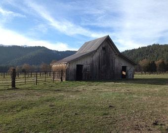 Barn - Mt. Shasta, CA