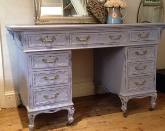 SOLD*****Vintage painted desk / dressing table