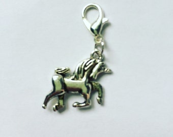 Unicorn Progress Keeper/Stitch Marker/Zipper pull/Charm