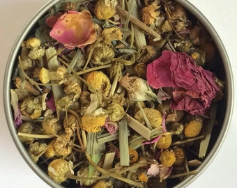 Sleepy Serena Herbal Loose Leaf Tea & Hand-Filled Tea Bags
