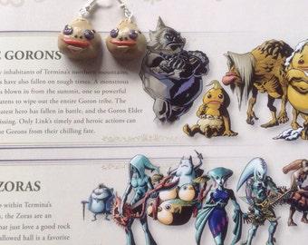 Legend of Zelda: Majora's Mask Goron Earrings