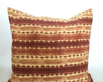 Aztec Striped Pillow