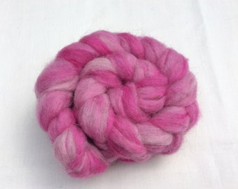 Hand dyed North Ronaldsay wool tops