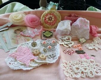 53 piece embellishement kit