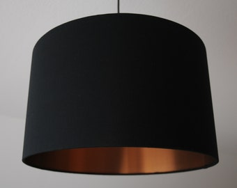 "Lampshade ""Black-copper"""