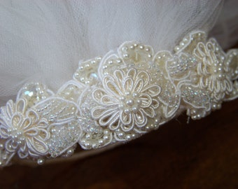 Vintage Veil and Hairpiece