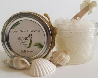 Put the Key Lime in The Coconut! Sea Salt Scrub