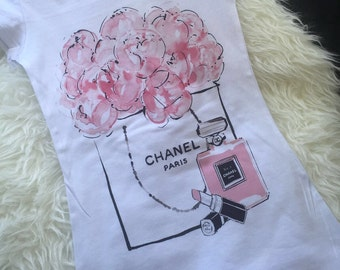 Chanel pink bouquet
