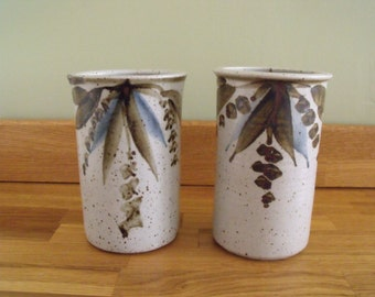 Nantwich Pottery Vases