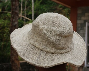100% Hemp Hat from Nepal 0025 - Support Education