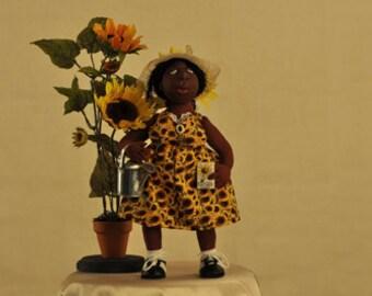 Sadie the Sunflower Lady