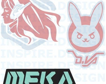 D.Va Decal PLUS