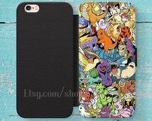 Pokemon All character iPhone 4s 5s SE 5C 6S Plus case,Samsung S3 S4 S5 Mini S6 S7 Note case,iPod,HTC,Nexus,LG,Xperia Wallet case