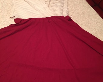 Vintage Dress with full Circle Skirt
