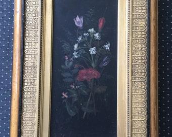 Antique Original Oil Painting- Beautiful Frame!