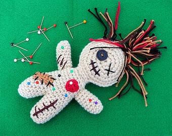 PDF: Celeste, the friendly Voodoo doll - Crochet Pattern