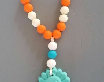 Silicone Teething toy, wrap snap