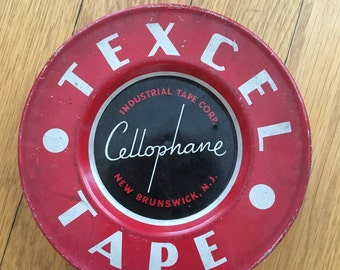 Texcel Tape Tin Can