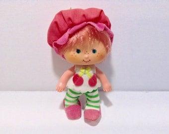 Vintage Cherry Cuddler Strawberry Shortcake Doll