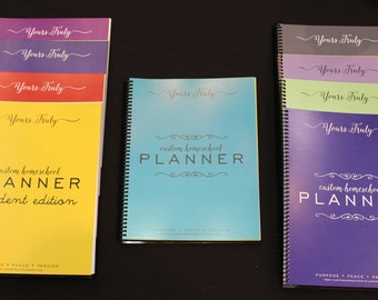 Yours Truly Custom Homeschool Planner