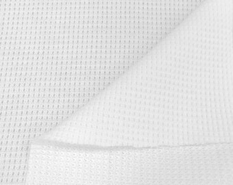 Supima Cotton Thermal Knit Fabric