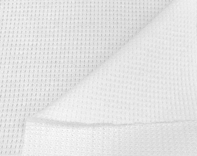 Supima Cotton Thermal Knit Fabric