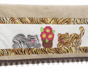 Hand towel: Animals