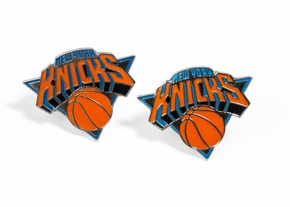 New York Knicks Cuff Links -- FREE SHIPPING with USPS First Class Domestic Mail