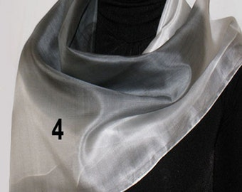 Luxurious Hand-painted Scarf