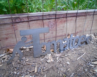 Tomatoes garden sign