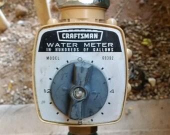 Craftsman Water Meter no 69392