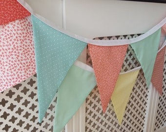 Bunting made to order - you choose the length and colour scheme!