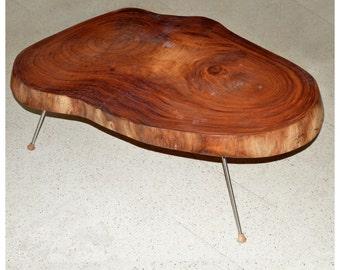 Table slice of wood