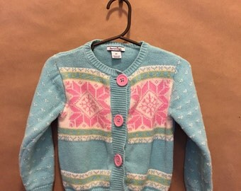 Winter Snowflake Sweater 4T