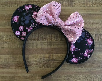 Mickey Floral Mouse Ears