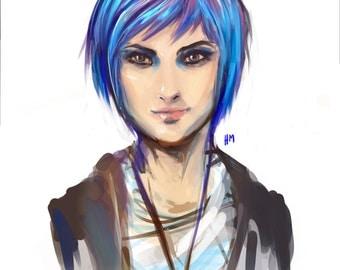 Character Art Print - Chloe Price