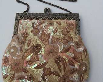 Beautiful Vintage Beaded Evening Bag by Jewels