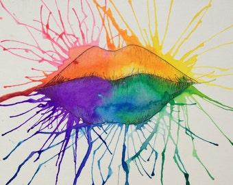 Rainbow Lips
