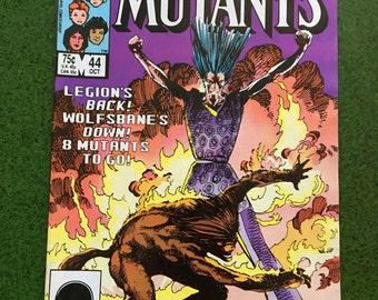 The New Mutants #44 (October 1983, Marvel)