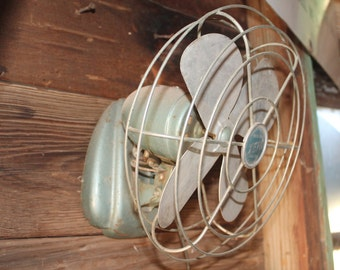 Vintage Metal Electric Fan