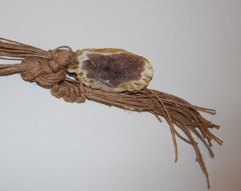 NATURAL NECKLACE - GEODE