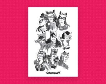 Catwoman75 Celebratory Postcard (x1)