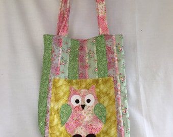 Owl Tote Bag/Nappy Bag
