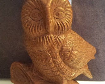 Handcrafted in the USA, brown owl, Red Mill Manufacturing